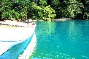 blue lagoon portland jamaica long bay blue jamaican jerk sauce