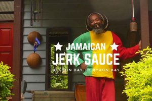 jamaican jerk sauce jah blue Byron Bay Australia
