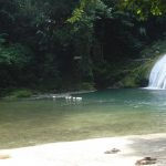 Reach Falls Pool Long Bay Jamaica Jah Blue Jamaican Jerk Sauce Boston Bay to Byron Bay