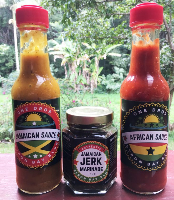 One Drop Chilli Sauces Byron Bay Blue Jamaican Jerk Sauce Australia